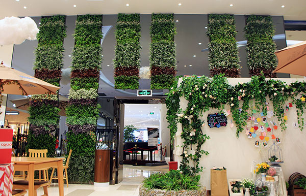 Artificial Hedge Plants for Commercial Design in 2021