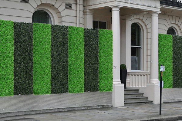 Artificial Fence used for Property Decoration