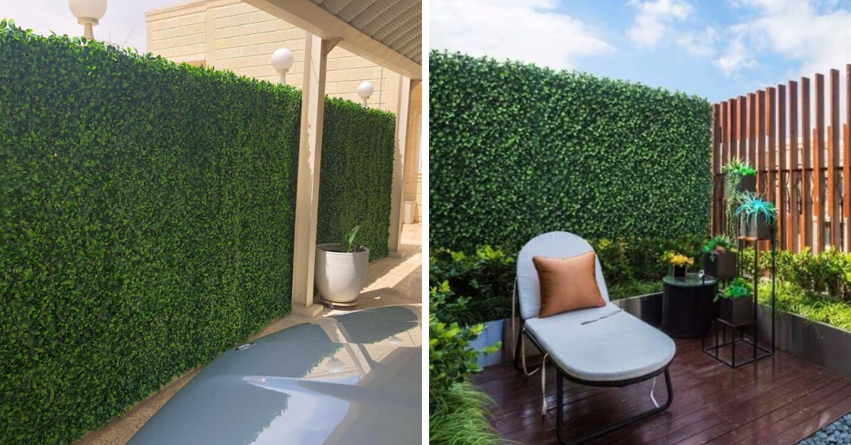 Best 3 Kinds of Artificial Hedging for Outdoor Privacy