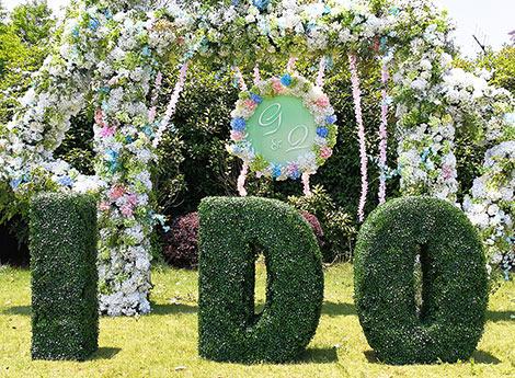 Customized Topiary Plants