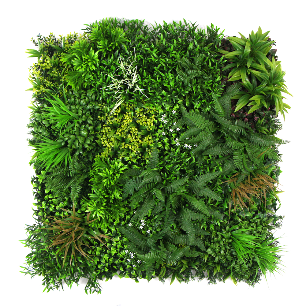 Artificial Green Wall Panel Fake Forest