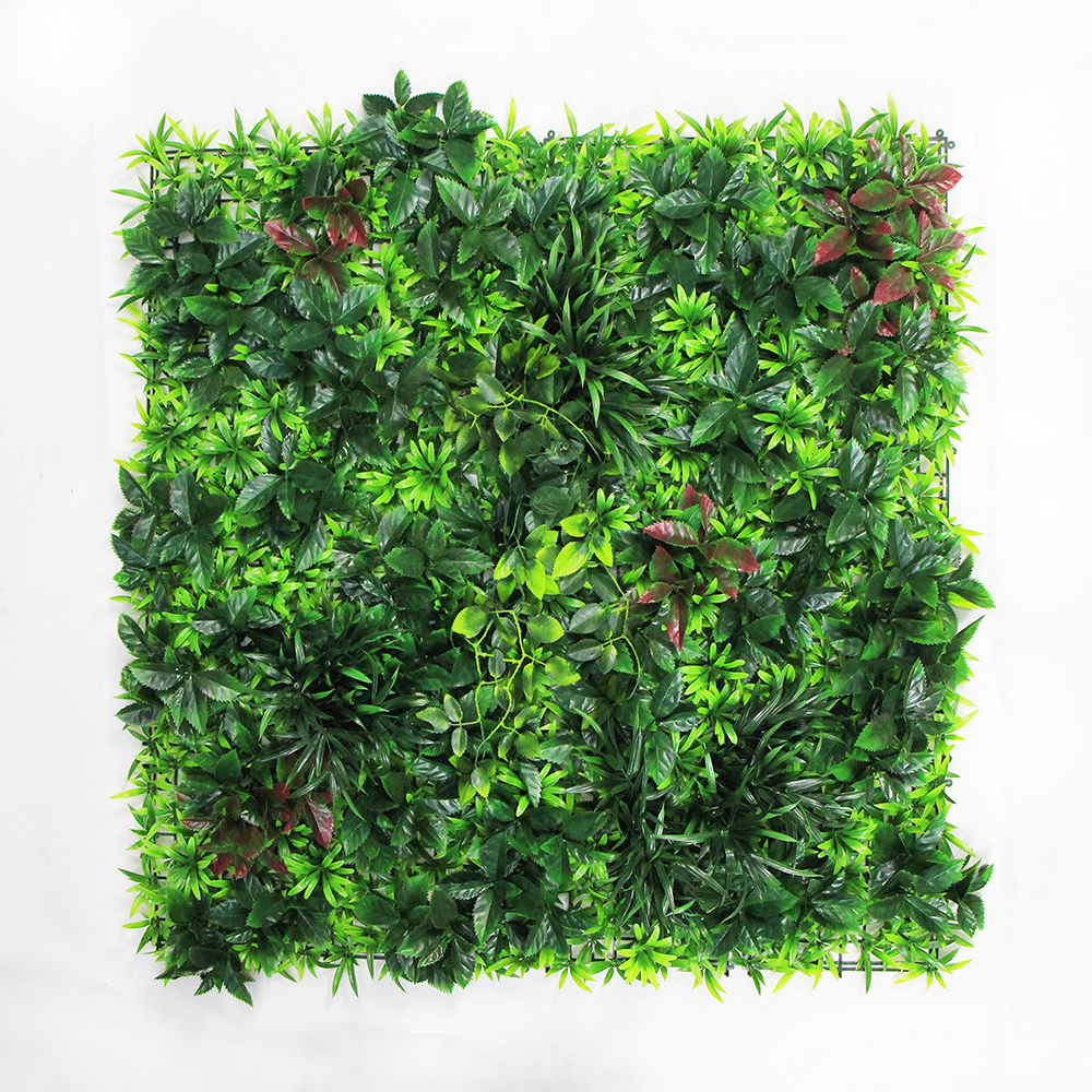 Artificial Green Wall Panel with Thorn Bush