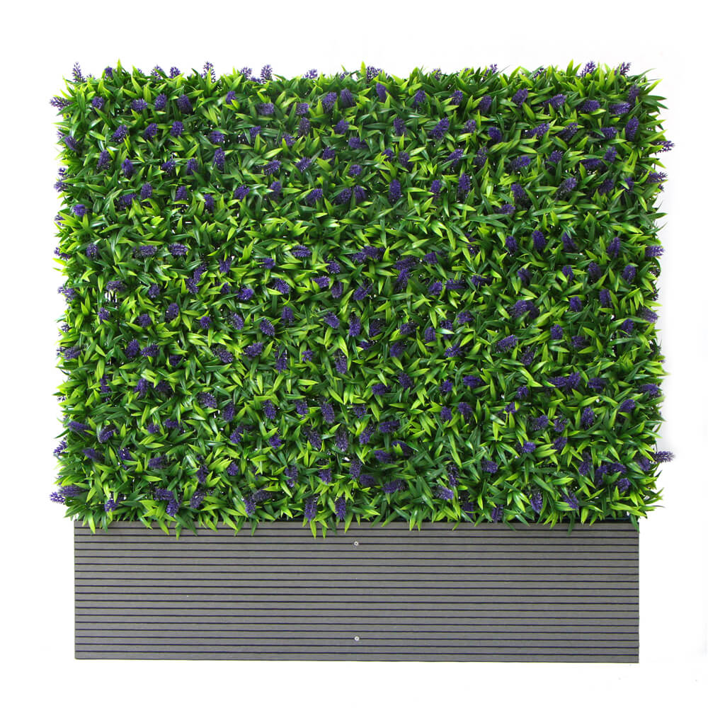 Artificial Green Wall in Planter