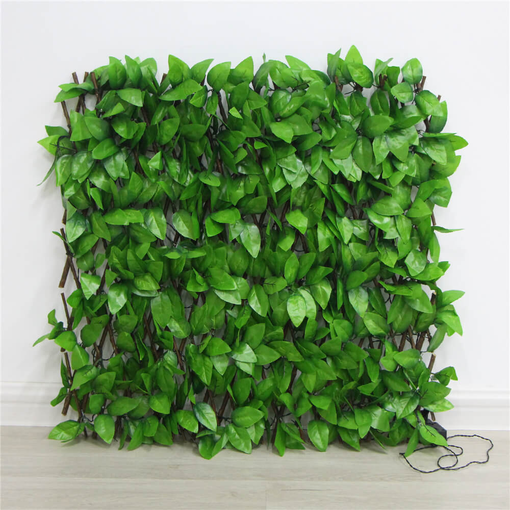 Artificial Ivy Leaves Wall
